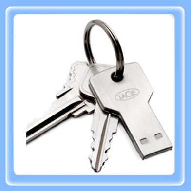USB Lacie PetiteKey 1